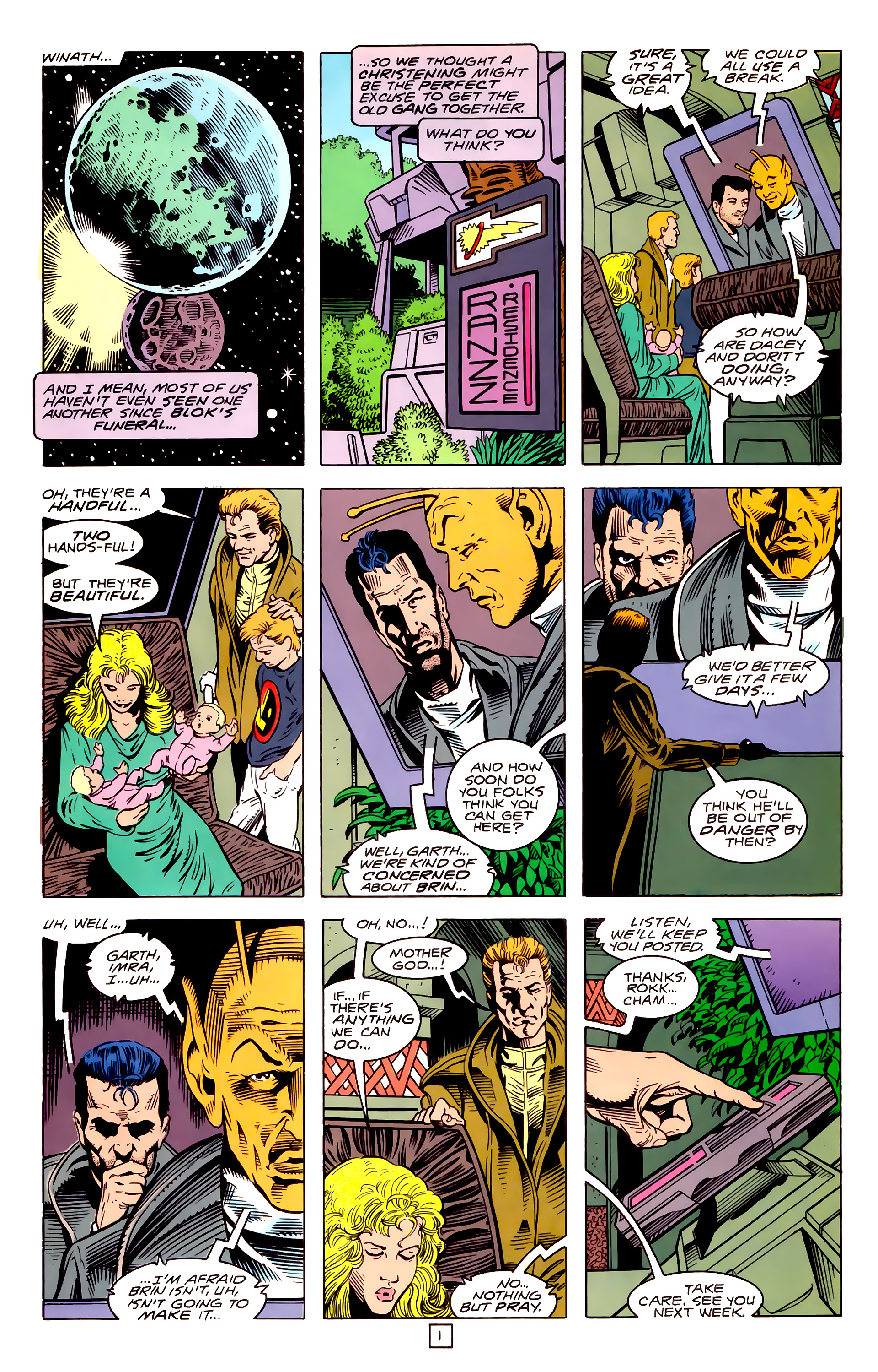 Legion of Super-Heroes (1989) _Annual_3 Page 28