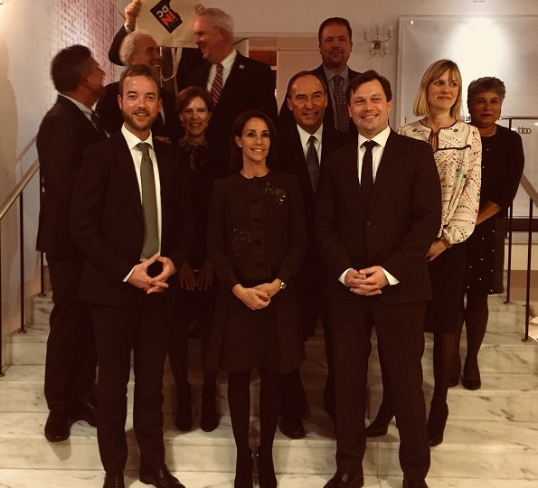 Princess Marie of Denmark attended meetings of World Resource Institute held in Washington DC