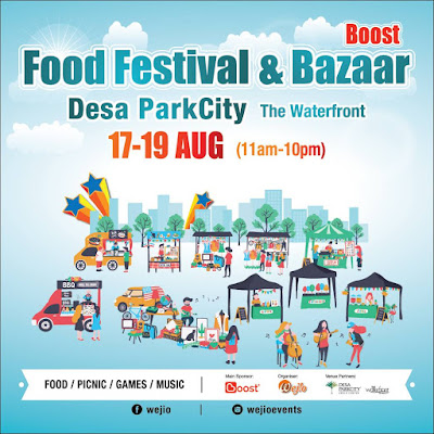 Food Festival  & Bazaar, The Waterfront, Desa ParkCity