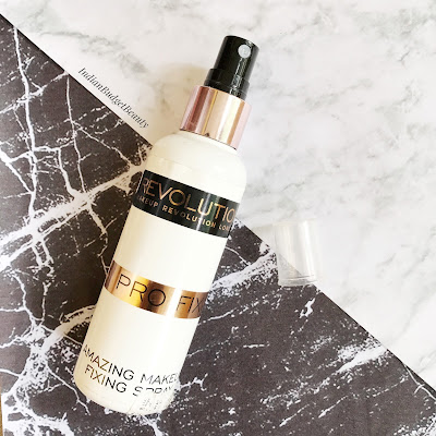Makup Revolution Pro Fixing Spray - Amazing Makeup fixing Spray REVIEW