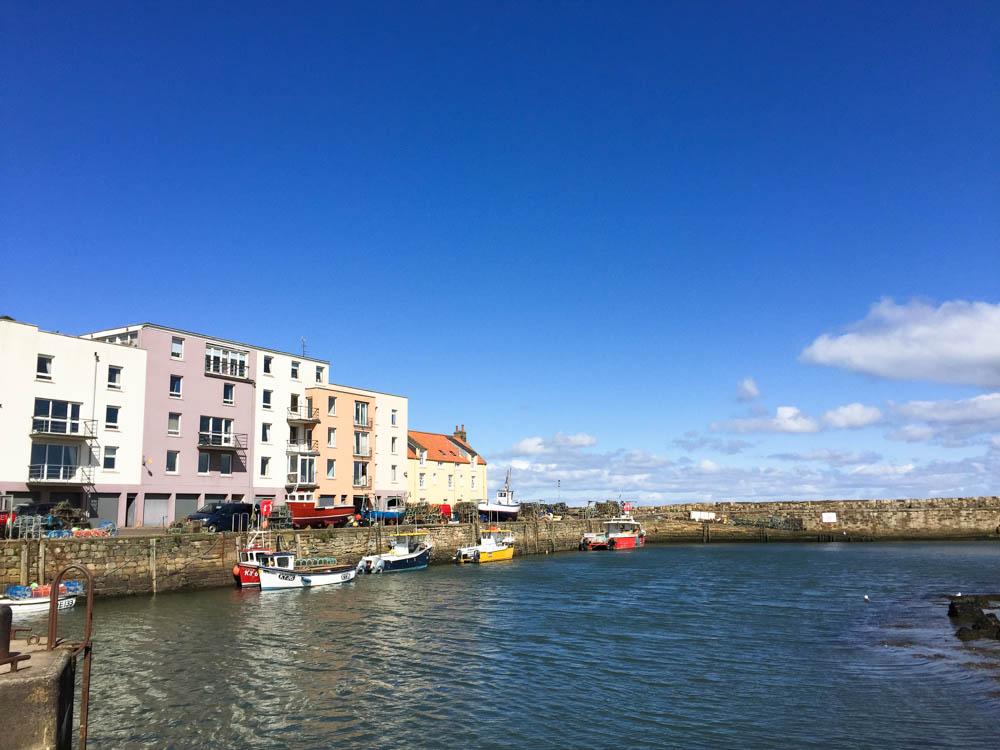 Saint Adrews harbour