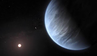 Water found on an Exoplanet