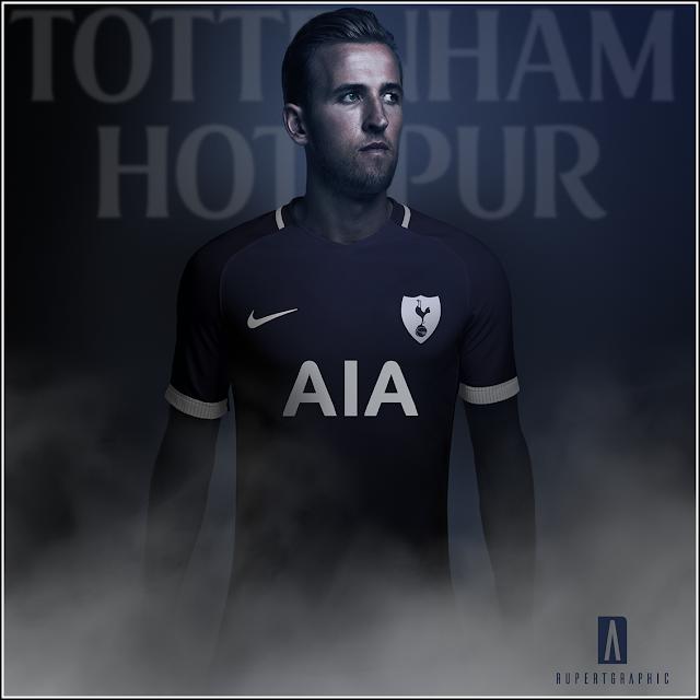 Tottenham HotSpur FC 17-18 Nike Away Jersey Review