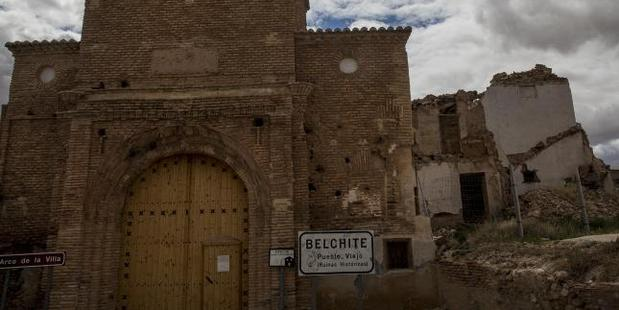 Belchite in Spain,most haunted in the world which saw tragedy on an unimaginable scale