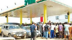 PETROL TANKER DRIVERS ON STRIKE IN NIGERIA