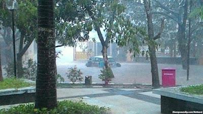 Banjir Undip RSND kampusundipcom