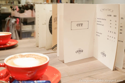 The Comb Hair Studio Singapore Review