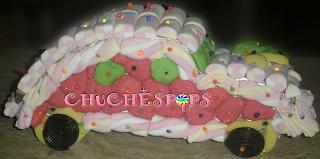 Tarta de Chuches Coche