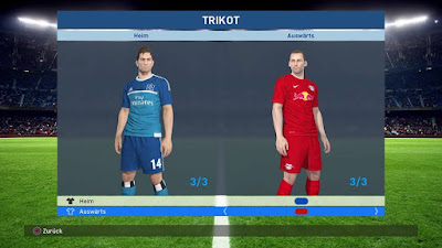 PES 2017 PS4 Option File Bundesliga Patch by BuliCrewPatch