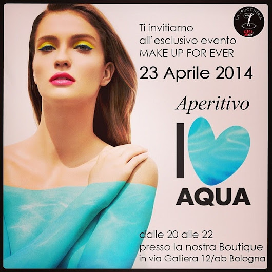 Preview: Collezione AQUA Make Up For Ever