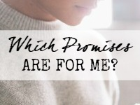 which promises are for me