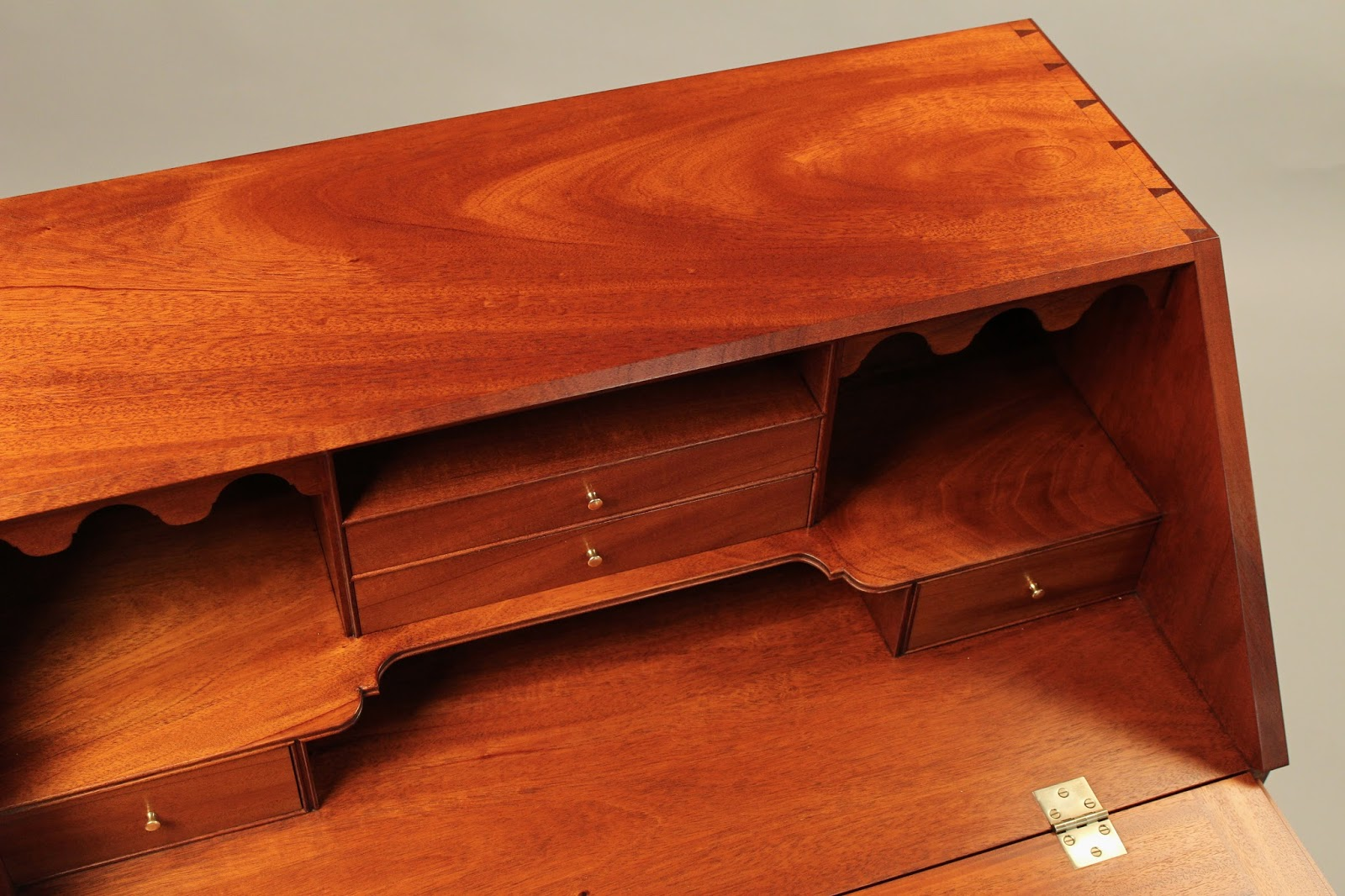 Handmade Desk interior