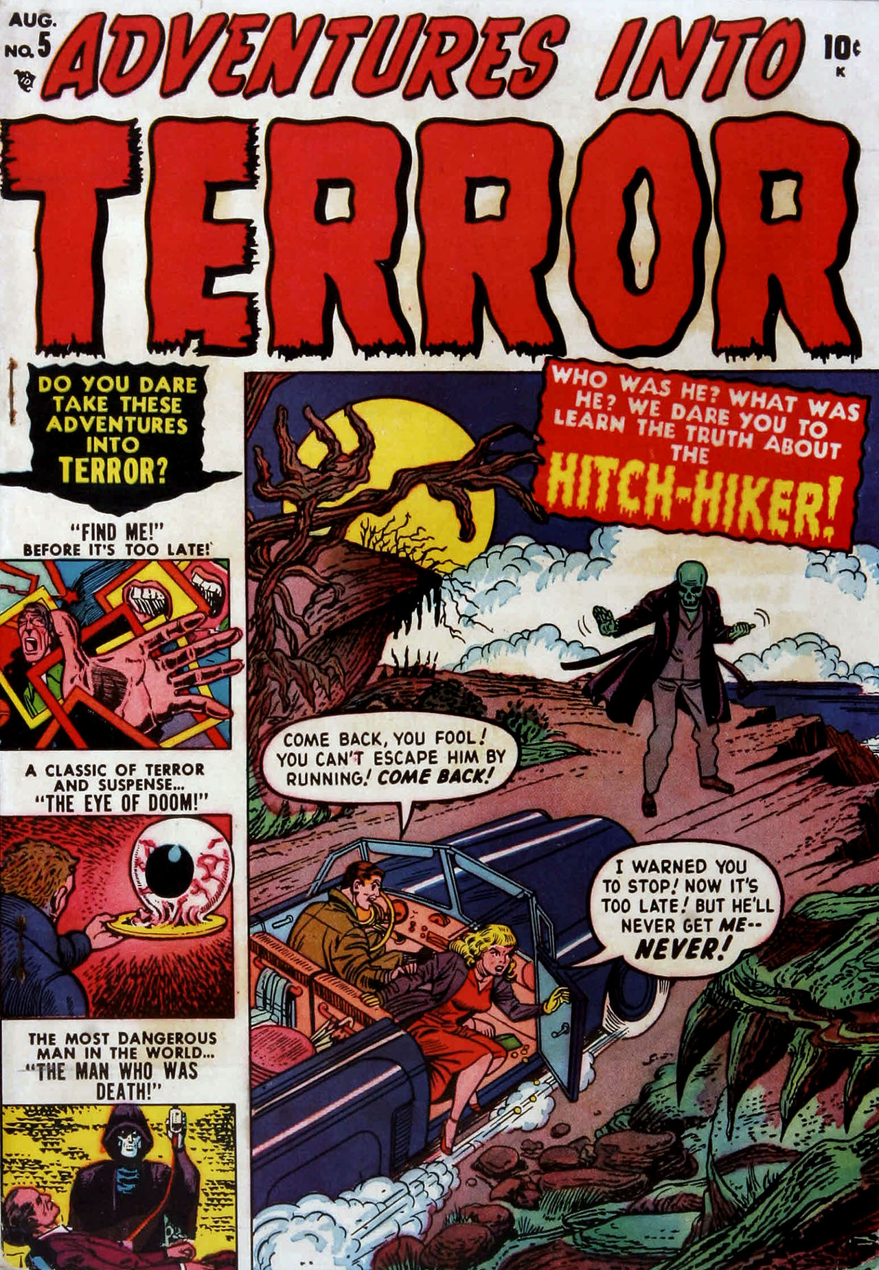 Adventures into Terror 5 Page 1