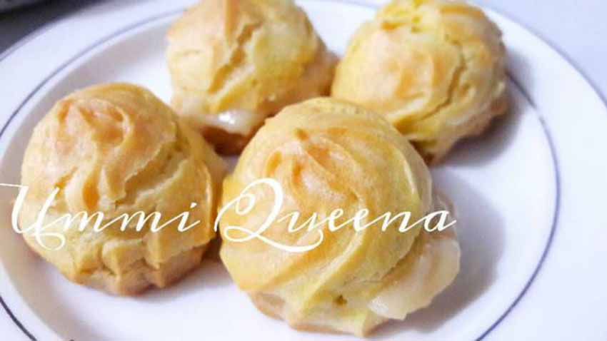 Resep Membuat Kue Soes With Milky Vla by Ummi Queena