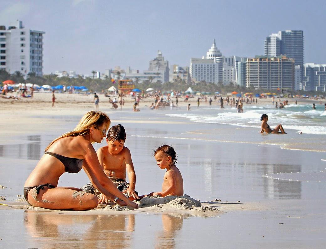 Miami com crianças e filhos
