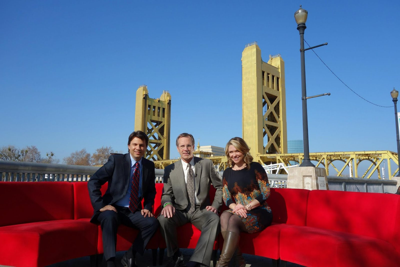 the appreciation of booted news women blog fox 40 brought the big red couch out on the road. Black Bedroom Furniture Sets. Home Design Ideas