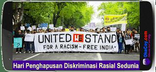 Hari Penghapusan Diskriminasi Rasial Sedunia