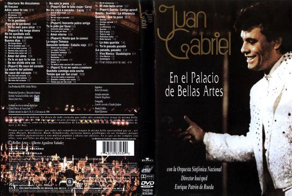 Juan Gabriel En El Palacio De Bellas Artes