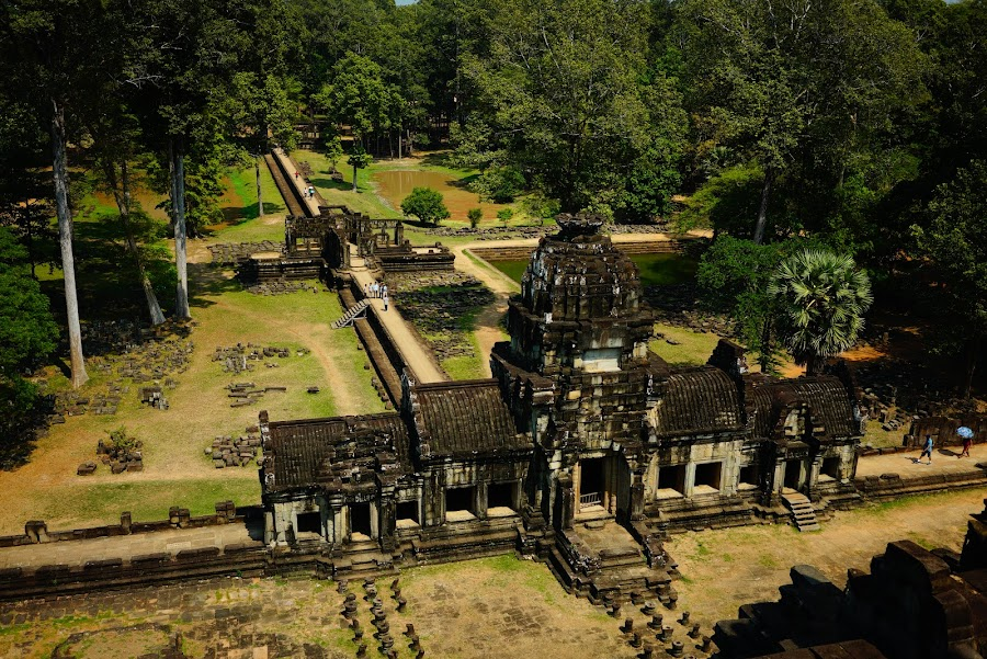 Baphuon temple, ancient Angkor