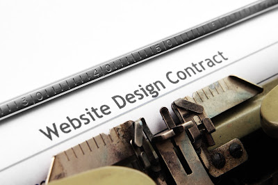 Web site contract