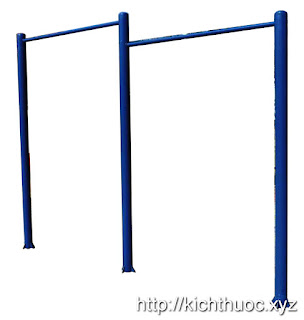 kich thuoc may tap xa don 2 bac double pull up rack