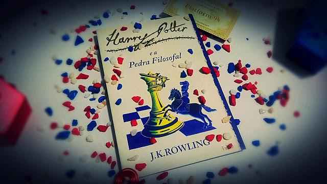 [RESENHA #180] HARRY POTTER E A PEDRA FILOSOFAL - J. K. ROWLING