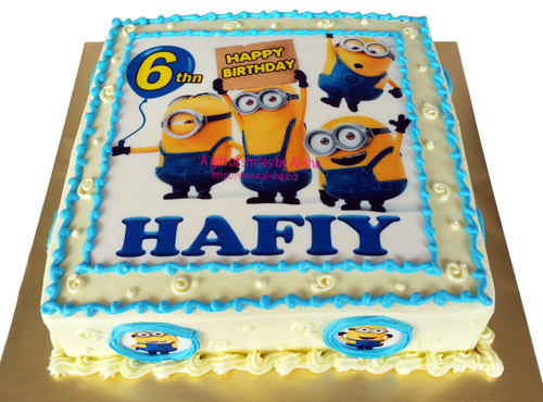 Birthday Cake Minion