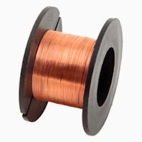 rollo de cable esmaltado de cobre hilo