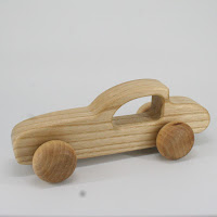 LFC32, Traveller's Car , Lotes Toys Wooden Car