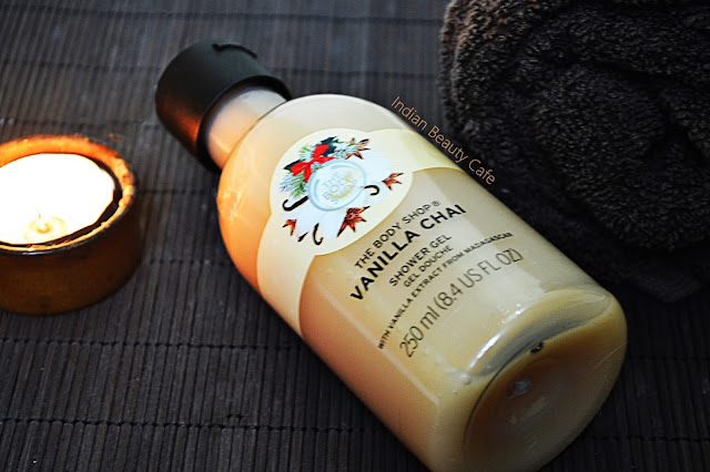 The Body Shop Vanilla Chai Shower Gel