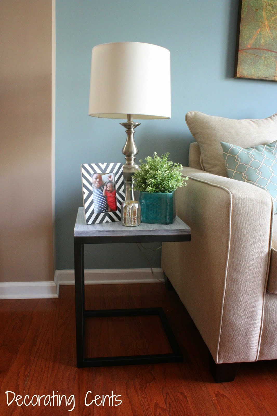 Decorating Cents West Elm Inspired Side Table