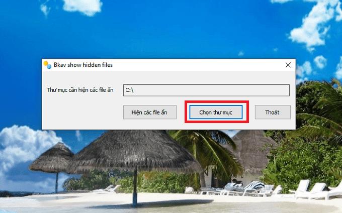 Cách hiện file bị ẩn do virus