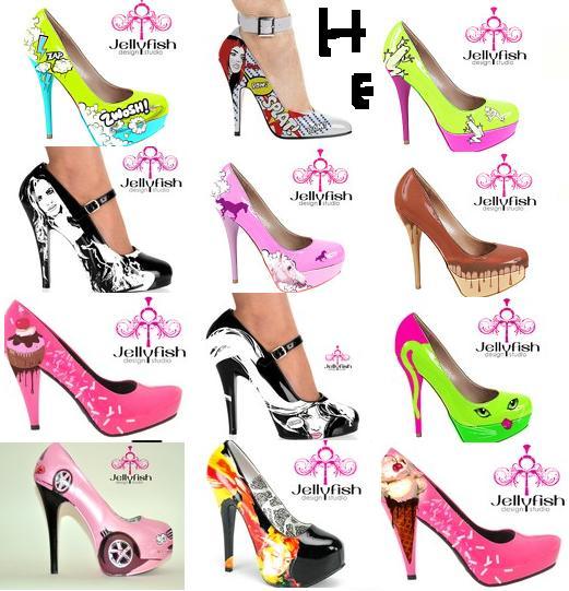 June Heel Ice Shoes
