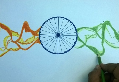 Indian Independence Day Drawings