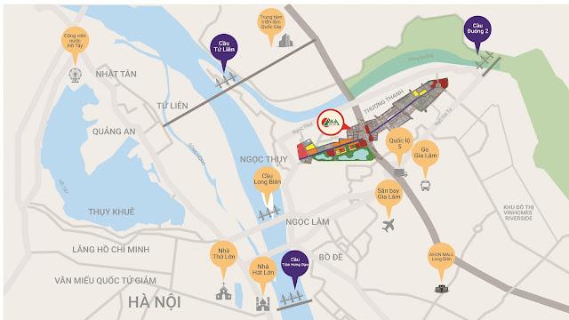 Liên kết vùng của dự án Khai Sơn City