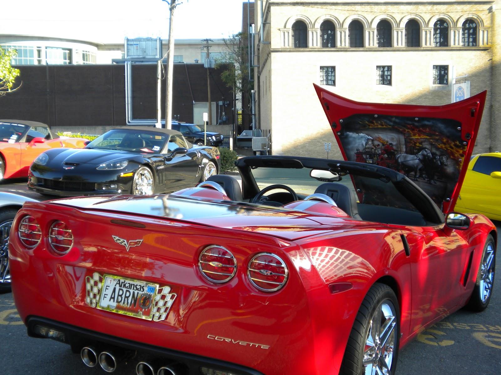 Untouchables Corvette Club Iccc Meeting In Arkansas Oct 2011