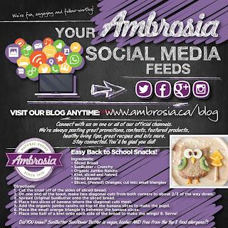 Ambrosia Natural Foods Flyer September 1 - 30, 2017