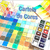 Como fazer Cartela de Cores em Aquarela - #1 (How to Make Watercolor Color Chart) - VIDEO