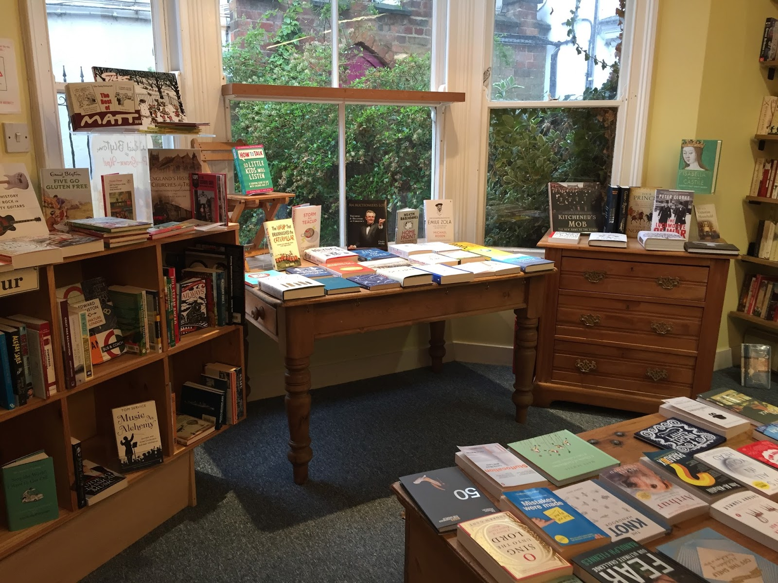 The bookshop around the corner: In search of a good bookshop