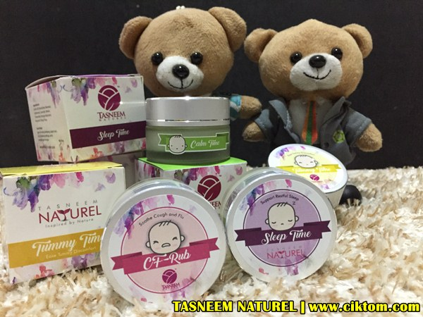 Balm Tasneem Naturel Atasi Masalah Bayi Meragam