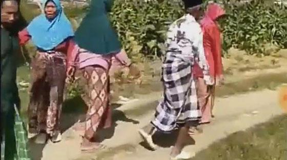Video Lucu Manula Ikut Loba Baris Berbaris Yang Bikin Netizen Ngakak