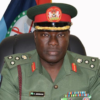 Acting Director, Defence Information, Brig. Gen. Rabe Abubakar