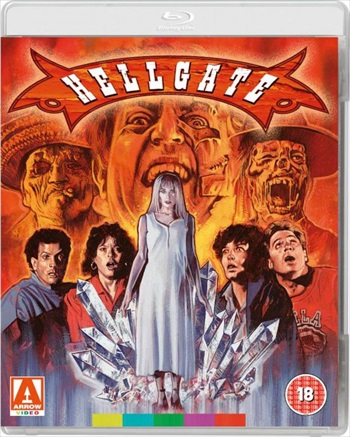 Poster of Hellgate 1989 BRRip 720p Dual Audio 700MB Watch Online free Download Worldfree4u
