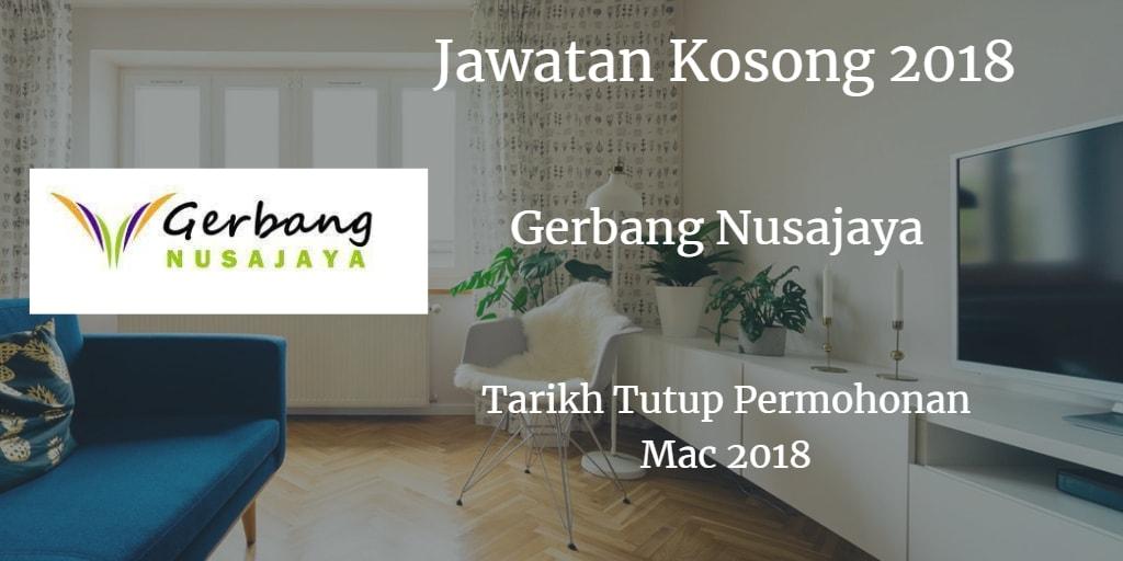 Jawatan Kosong Gerbang Nusajaya Mac 2018