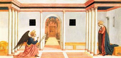 Domenico Veneziano - l'annonciation