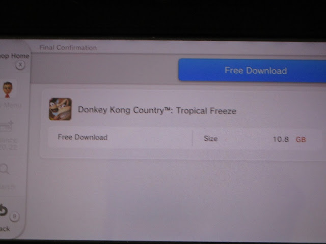 Donkey Kong Country Tropical Freeze Nintendo eShop Wii U free download