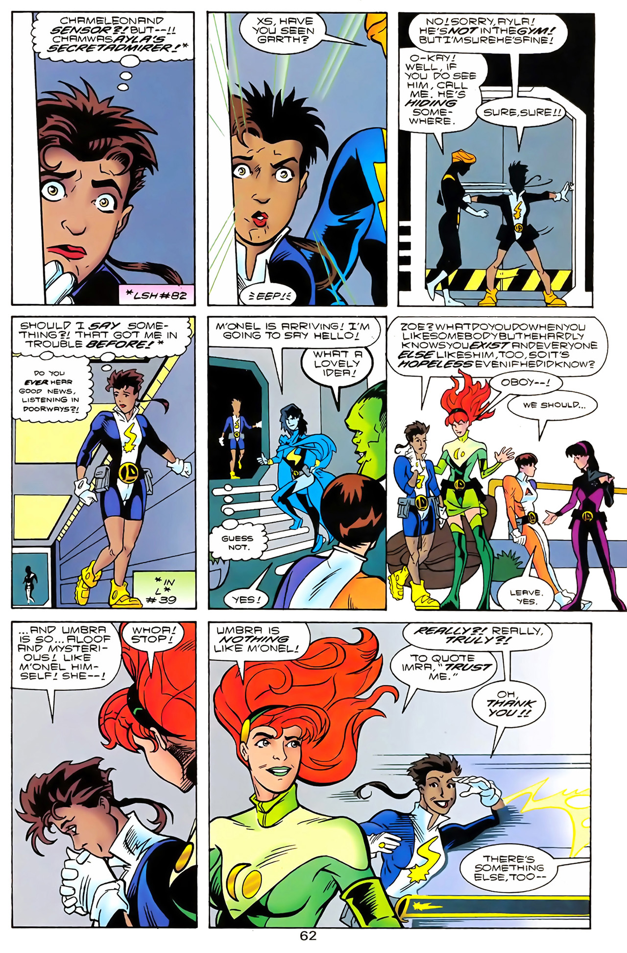 Legion of Super-Heroes (1989) 100 Page 56