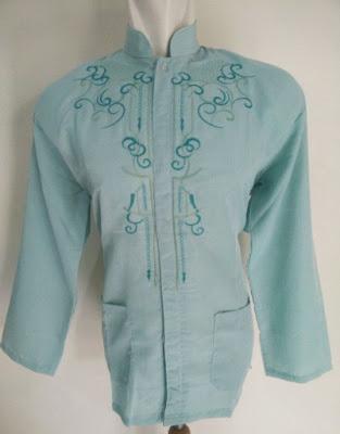Baju Koko Biru Murah simpel