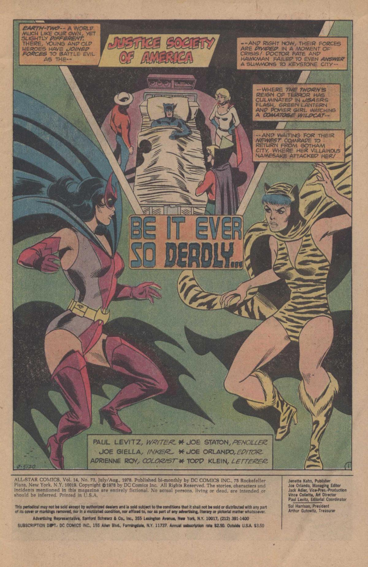 Read online All-Star Comics comic -  Issue #73 - 3