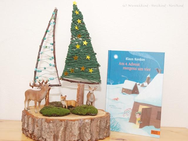 In der Adventszeit basteln und lesen wir sehr viel. Zu dieser Jahreszeit wird es schnell dunkel und die Zeit draußen wird immer kürzer. Die Zeit im Haus wollen wir uns also gemütlich und doch anregend gestalten und auch montessori-inspiriert! - Montessori - MontessoriEntdecker - Weihnachten - Winter - Advent -